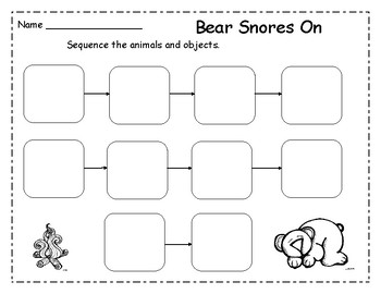 Bear Snores On Retell