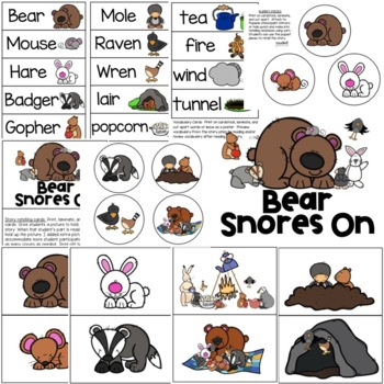 Bear Snores On Retelling Pack