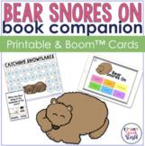 Bear Snores On:  Speech & Language Activities