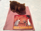 Bear Snores On Story Bag