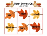 Bear Snores On - Word Rhymes