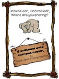 Bear Snores On~Author Study Karma Wilson Positional Word Reader