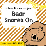 Bear Snores On {A Book Companion}