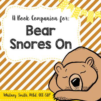 Bear Snores On {A Book Companion}