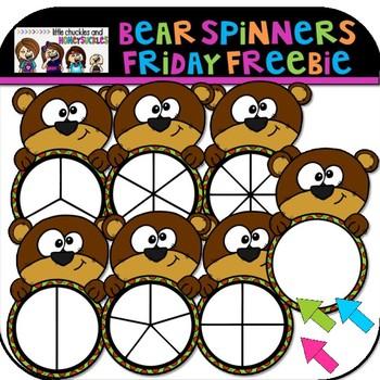 Bear Spinners Friday Freebie
