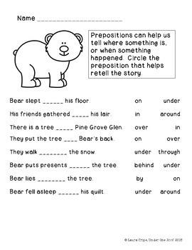 Bear Stays Up: A Literature Unit