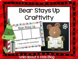 Bear Stays Up Craftivity