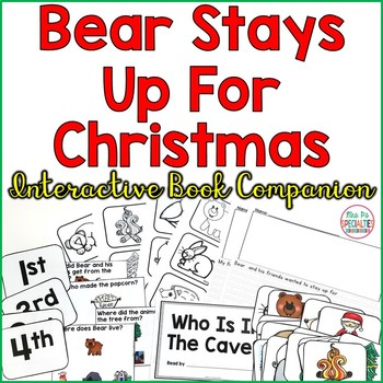 Bear Stays Up For Christmas: Interactive Companion Set