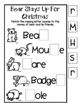 Bear Stays Up For Christmas Listening Center