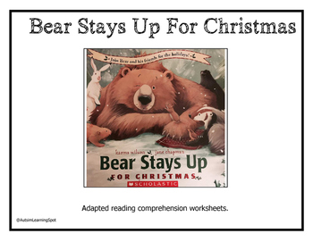 Bear Stays Up For Christmas Shared Reading