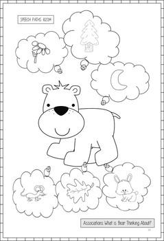 Bear Stays Up For Christmas--Speech & Language Book Companion