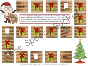 Bear Stays Up For Christmas – Speech and Language Activities (Book Companion)