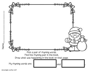 Bear Stays Up for Christmas: Book Companion-Centers-Craftivity-Literacy