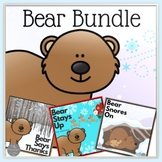 Bear Stays Up for Christmas-Bear Says Thanks-Bear Snores On Bundle
