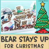 Bear Stays Up for Christmas Speech Therapy Book Companion