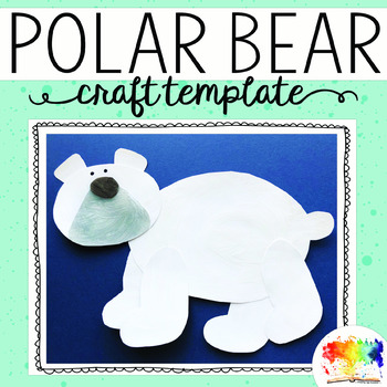 Bear Template for Art Project or Flannel Board