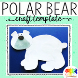 Polar Bear Craft Template