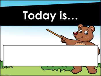 Bear Theme Decor {Expansion Pack}