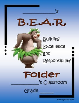 Bear-Themed Folder