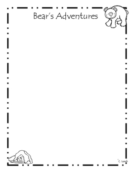 Bear Themed Journal - Take Home Friend