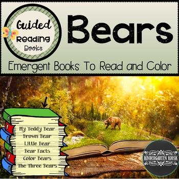 Bear Themed Sight Word Readers