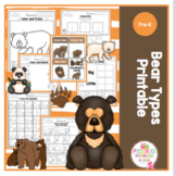 Bear Types Printable