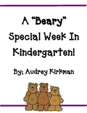 "Bear Units: Kindergarten is ""Beary"" Fun"