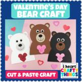 Bear Valentine's Day Craft