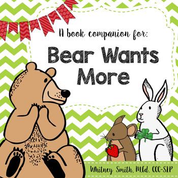Bear Wants More {A Book Companion}