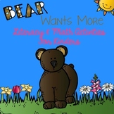Bear Wants More - Literacy and Math Activities for Kinders
