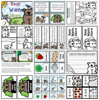 Bear Wants More Literacy and Math Unit