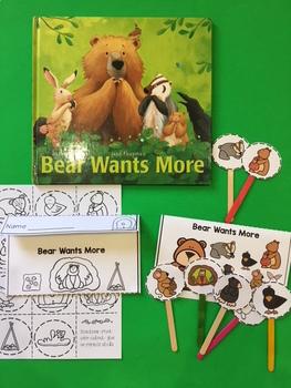 Bear Wants More Puppet Sticks
