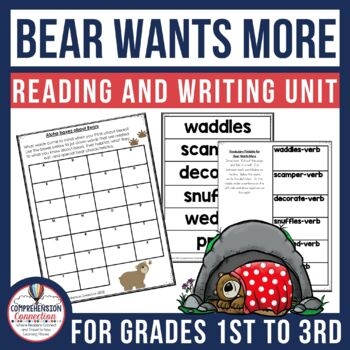 Bear Wants More Guided Reading and Writing Unit