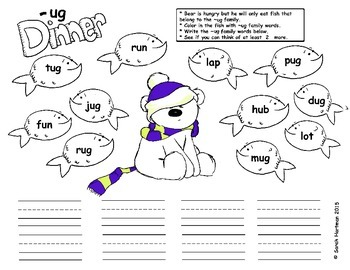 Bear Word Families