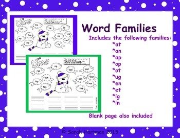 Bear Word Families