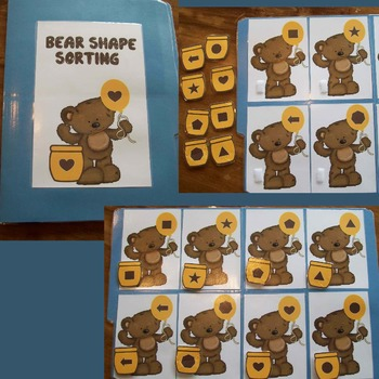 Bear and Honey Pot Shape Matching