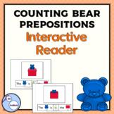 Bear and box prepositions interactive reader
