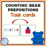 Bear and box prepositions task cards