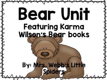 Bear and friends packet