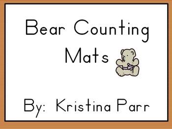 Bear counting mats