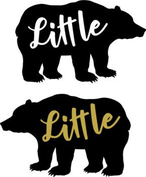 Bear family SVG - Bear svg - Bear family bundle svg - 7 Bear cutting designs