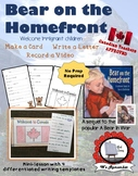 Bear on the Homefront **Remembrance Day Activity**