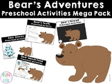 Bear's Adventures Preschool Activities