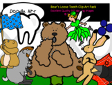 Bear's Loose Tooth Clip Art Pack