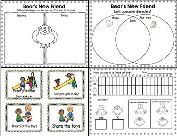 Bear's New Friend by Karma Wilson (A Story Companion)