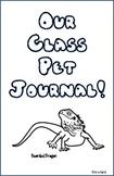 Bearded Dragon Class Pet Journal