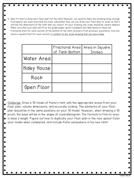 Fractions and Volume Performance Task