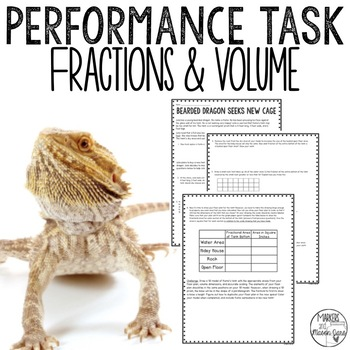 Bearded Dragon Seeks New Cage: Fractions and Volume Perfor
