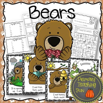 Bears Around the Year, Informative text, Emergent Reader, Guided Reading