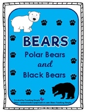 Bears Thematic Unit Polar Bears and Black Bears